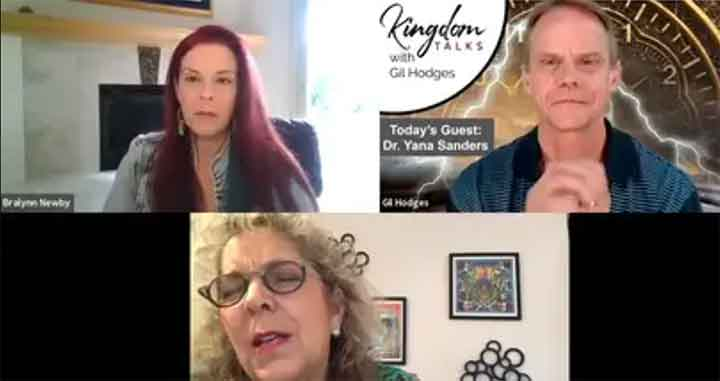 Kingdom Talks with Dr. Yana Sanders – 5-6-2019