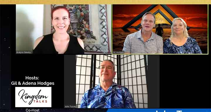John Tussey and the Power of Frequencies on Kingdom Talks with Host Gil Hodges and Bralynn Newby
