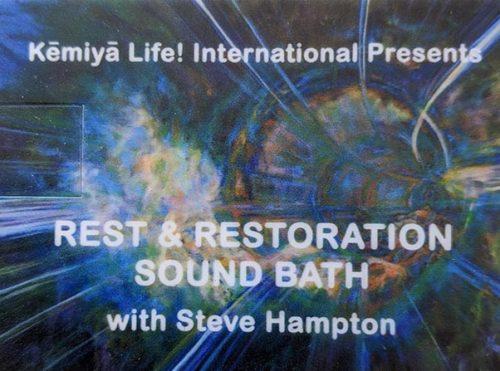Rest & Restoration Sound Bath